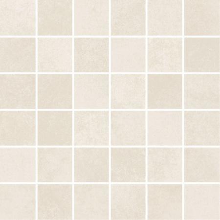 Villeroy & Boch Section Mozaika podłogowa 5x5 cm rektyfikowana Vilbostoneplus, kremowobiała creme-white 2031SZ00