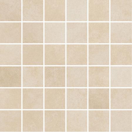 Villeroy & Boch Section Mozaika podłogowa 5x5 cm rektyfikowana Vilbostoneplus, piaskowa sand-beige 2031SZ10
