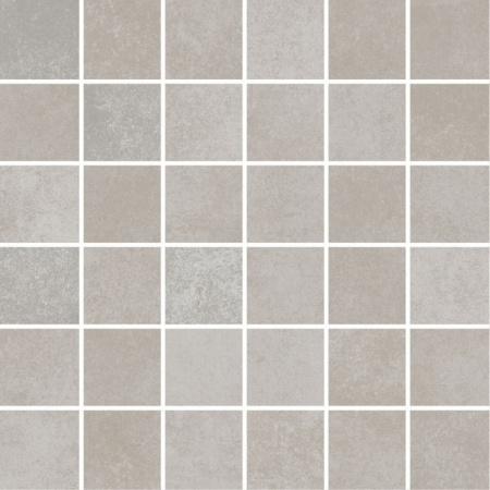Villeroy & Boch Section Mozaika podłogowa 5x5 cm rektyfikowana Vilbostoneplus, szara cement grey 2031SZ60