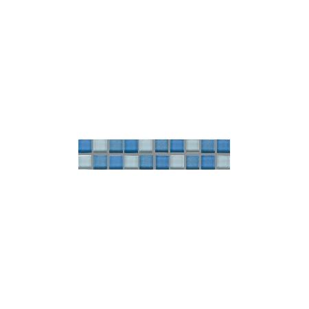 Villeroy & Boch Smart Bordiura Cube 5x25 cm, niebieska medium blue 1025BK40