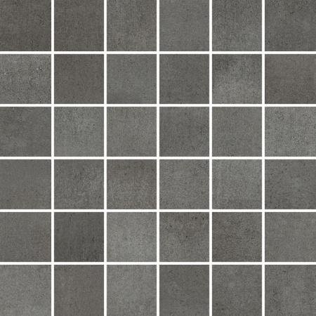 Villeroy & Boch Spotlight Mozaika podłogowa 5x5 cm rektyfikowana Vilbostoneplus, antracytowa anthracite 2030CM9M