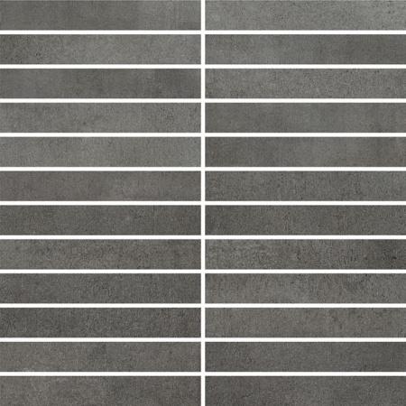 Villeroy & Boch Spotlight Płytka podłogowa 2,5x15 cm rektyfikowana Vilbostoneplus, antracytowa anthracite 2919CM95