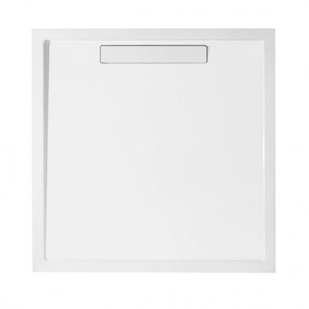 Villeroy & Boch Squaro Super Flat Brodzik kwadratowy 90x90x1,8 cm z Quarylu, biały Weiss Alpin DQ0910SQR1V-01