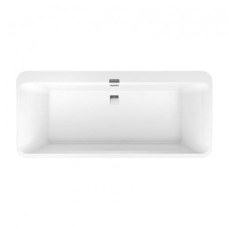 Villeroy & Boch Squaro Edge 12 Duo Wanna prostokątna 180x80 cm, biała Weiss Alpin UBQ180SQE7DV-01