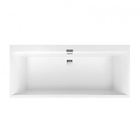 Villeroy & Boch Squaro Edge 12 Duo Wanna prostokątna 170x75 cm, biała Weiss Alpin UBQ170SQE2DV-01