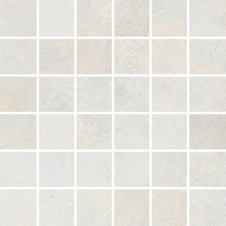 Villeroy & Boch Stateroom Mozaika podłogowa 5x5 cm rektyfikowana Vilbostoneplus, biała old white 2385PB1L