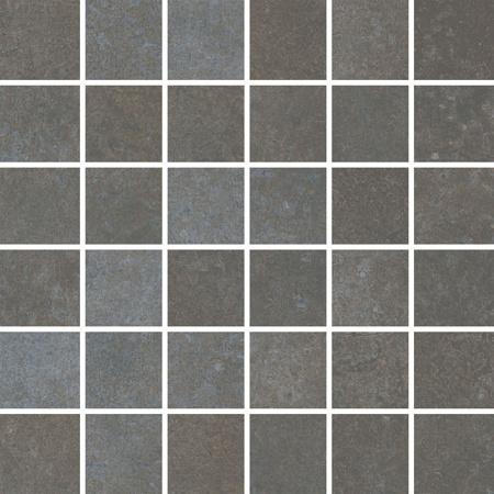 Villeroy & Boch Stateroom Mozaika podłogowa 5x5 cm rektyfikowana Vilbostoneplus, ciemnoszara tarmac 2385PB9L