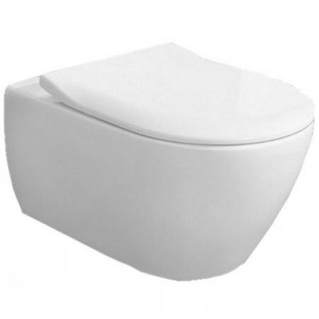 Villeroy & Boch Subway 2.0 Combi Pack Zestaw Toaleta WC podwieszana Ceramicplus DirectFlush z deską wolnoopadającą, biała 5614R2R1
