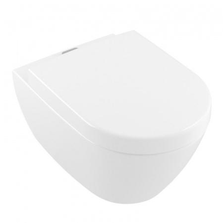 Villeroy & Boch Subway 2.0 Toaleta WC podwieszana 56x37 cm ViFresh DirectFlush bez kołnierza, biała Weiss Alpin 5614A101