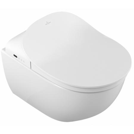 Villeroy & Boch Subway 2.0 ViClean Toaleta WC podwieszana 37x56 cm lejowa z powłoką CeramicPlus, biała Weiss Alpin 560050R1