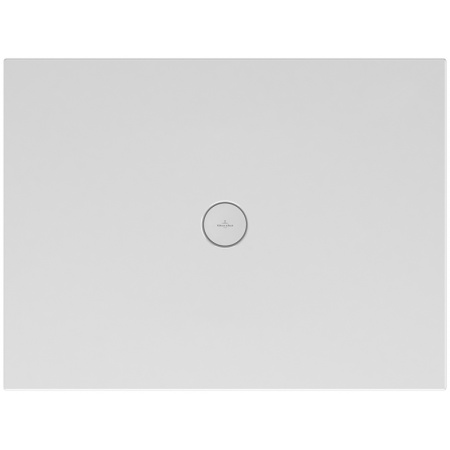 Villeroy & Boch Subway Infinity Brodzik prostokątny 100x70x4 cm ceramiczny, biały Weiss Alpin 6230L101