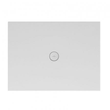 Villeroy & Boch Subway Infinity Brodzik prostokątny 100x80x4 cm ceramiczny, biały Weiss Alpin 6229J301