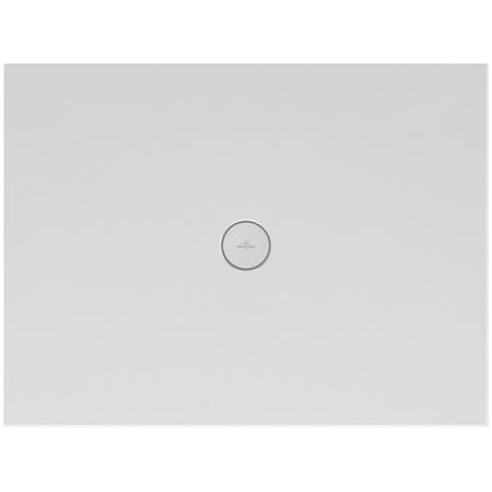 Villeroy & Boch Subway Infinity Brodzik prostokątny 100x80x4 cm ceramiczny, biały Weiss Alpin 6230L301