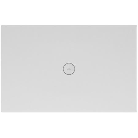 Villeroy & Boch Subway Infinity Brodzik prostokątny 120x80x4 cm ceramiczny, biały Weiss Alpin 6230P301