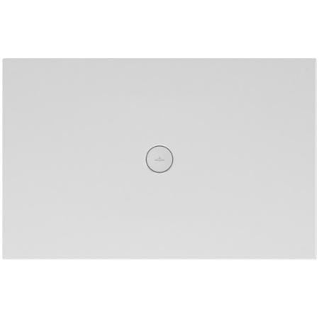 Villeroy & Boch Subway Infinity Brodzik prostokątny 130x90x4 cm ceramiczny, biały Weiss Alpin 6231R401