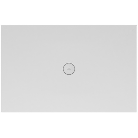 Villeroy & Boch Subway Infinity Brodzik prostokątny 140x80x4 cm ceramiczny, biały Weiss Alpin 6231T301