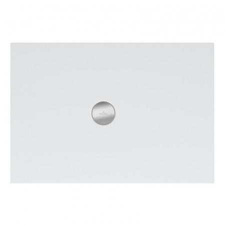 Villeroy & Boch Subway Infinity Brodzik prostokątny 140x90x4 cm ceramiczny, biały Weiss Alpin 6231S401