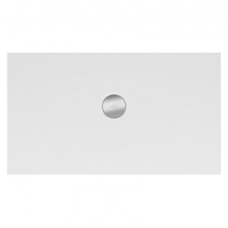 Villeroy & Boch Subway Infinity Brodzik prostokątny 150x100x4 cm ceramiczny, biały Weiss Alpin 6232W501