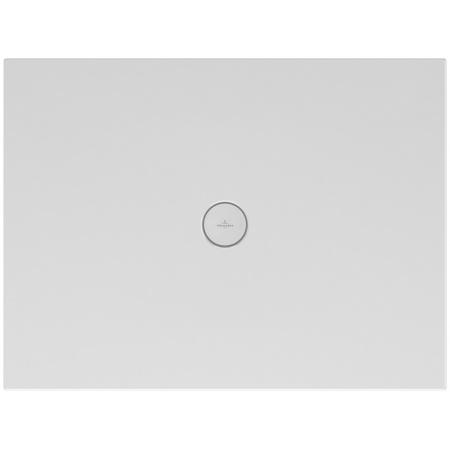 Villeroy & Boch Subway Infinity Brodzik prostokątny 90x80x4 cm ceramiczny, biały Weiss Alpin 6229E301