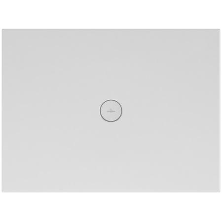 Villeroy & Boch Subway Infinity Brodzik prostokątny 90x90x4 cm ceramiczny, biały Weiss Alpin 6228F401