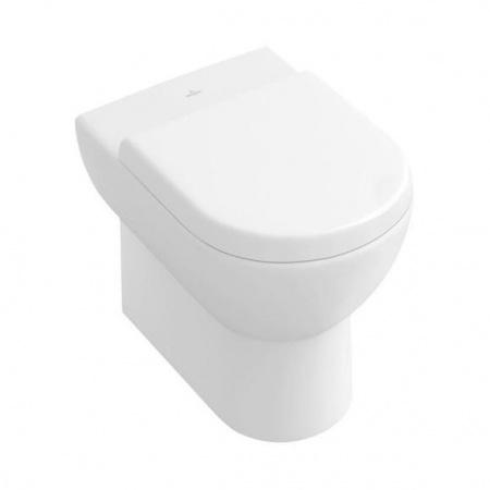 Villeroy & Boch Subway Toaleta WC stojąca 37x56 cm lejowa, z powłoką CeramicPlus, biała Weiss Alpin 660710R1