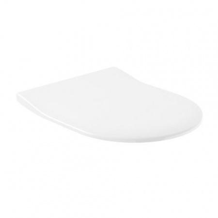 Villeroy & Boch Subway Deska sedesowa Slimseat wolnoopadająca, biała Weiss Alpin 9M65S101