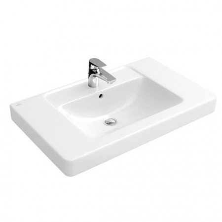 Villeroy & Boch Architectura Umywalka meblowa 80x48,5 cm z przelewem, biała Weiss Alpin 61168001