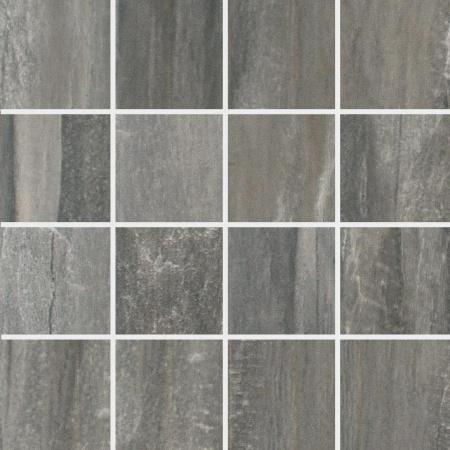 Villeroy & Boch Townhouse Mozaika podłogowa 7,5x7,5 cm rektyfikowana, szara grey 2114LC95