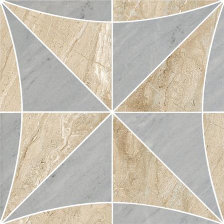 Villeroy & Boch Tribute Dekor 30x30 cm rektyfikowany Vilbostoneplus, beżowo-szary beige-grey 2188SE3L