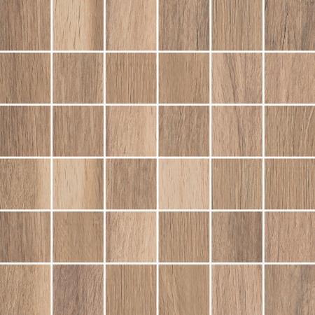 Villeroy & Boch Tuxedo Mozaika podłogowa 5x5 cm rektyfikowana Vilbostoneplus, średniobrązowa brown medium 2035TX30