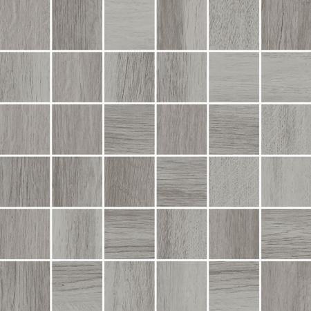 Villeroy & Boch Tuxedo Mozaika podłogowa 5x5 cm rektyfikowana Vilbostoneplus, szara grey 2035TX60