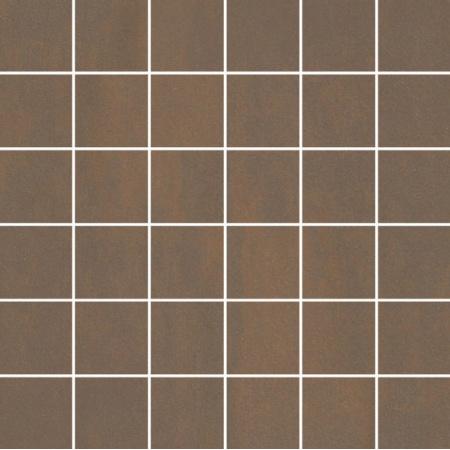 Villeroy & Boch Unit Four Mozaika podłogowa 5x5 cm rektyfikowana Vilbostoneplus, ciemnobrązowa dark brown 2363CT80