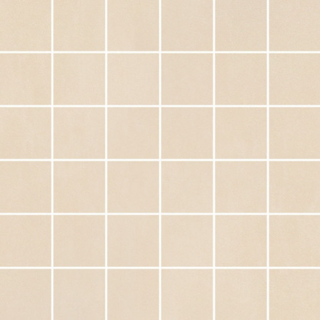 Villeroy & Boch Unit Four Mozaika podłogowa 5x5 cm rektyfikowana Vilbostoneplus, kremowa creme 2363CT10