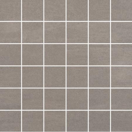 Villeroy & Boch Unit Four Mozaika podłogowa 5x5 cm rektyfikowana Vilbostoneplus, średnioszara medium grey 2363CT61