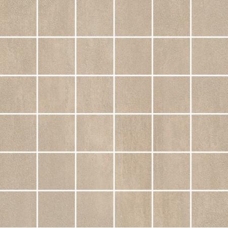 Villeroy & Boch Unit Four Mozaika podłogowa 5x5 cm rektyfikowana Vilbostoneplus, szarobeżowa greige 2363CT70