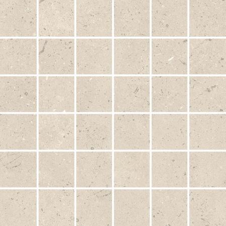 Villeroy & Boch Urbantones Mozaika podłogowa 5x5 cm rektyfikowana Vilbostoneplus, biała lime white 2699LI1M