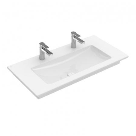 Villeroy & Boch Venticello Umywalka meblowa/wisząca 100x50 cm bez przelewu, biała Weiss Alpin 4104AG01