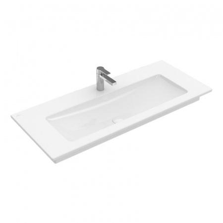 Villeroy & Boch Venticello Umywalka meblowa/wisząca 80x50 cm bez przelewu, biała Weiss Alpin 41048G01