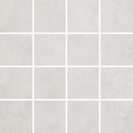 Villeroy & Boch Warehouse Mozaika podłogowa 7,5x7,5 cm rektyfikowana Vilbostoneplus, białoszara white-grey 2626IN10