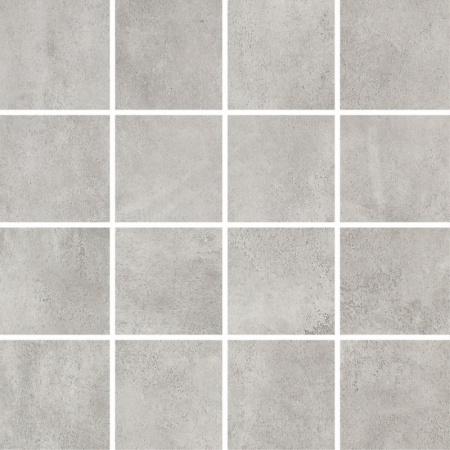 Villeroy & Boch Warehouse Mozaika podłogowa 7,5x7,5 cm rektyfikowana Vilbostoneplus, szara grey 2626IN60