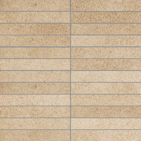 Villeroy & Boch X-Plane Mozaika podłogowa 2,5x15 cm rektyfikowana Vilbostoneplus, beżowa beige 2354ZM20