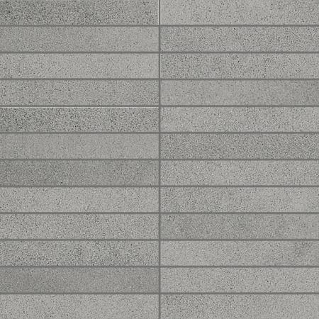Villeroy & Boch X-Plane Mozaika podłogowa 2,5x15 cm rektyfikowana Vilbostoneplus, szara grey 2354ZM60