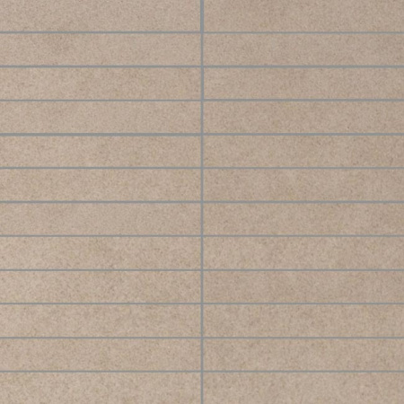 Villeroy & Boch X-Plane Mozaika podłogowa 2,5x15 cm rektyfikowana Vilbostoneplus, szarobeżowa greige 2354ZM70