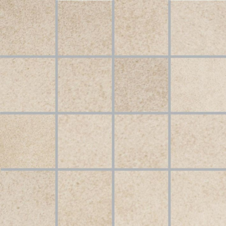 Villeroy & Boch X-Plane Mozaika podłogowa 7,5x7,5 cm rektyfikowana Vilbostoneplus, kremowa creme 2362ZM10