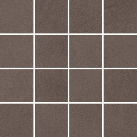 Villeroy & Boch Xentric Mozaika podłogowa 7,5x7,5 cm rektyfikowana Vilbostoneplus, brązowa brown 2626XI80