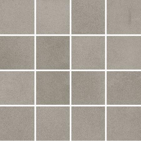 Villeroy & Boch Xentric Mozaika podłogowa 7,5x7,5 cm rektyfikowana Vilbostoneplus, szara grey 2626XI60