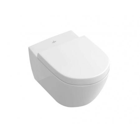 Villeroy & Boch Subway 2.0 Toaleta WC podwieszana 56,5x37,5 cm DirectFlush bez kołnierza, biała Weiss Alpin 5614R001