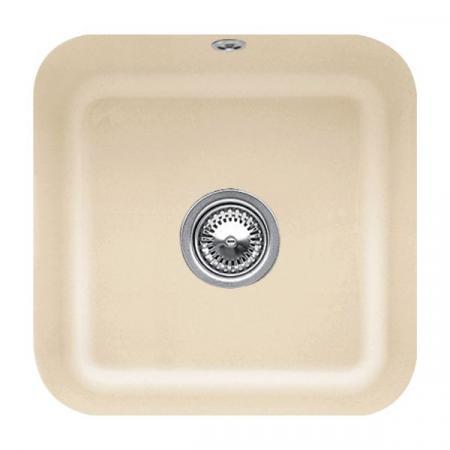 Villeroy&Boch Cisterna 50 Zlewozmywak ceramiczny jednokomorowy CeramicPlus 44,5x44,5 cm piaskowy Sand 670301i5