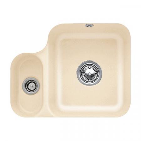 Villeroy&Boch Cisterna 60B Zlewozmywak ceramiczny półtorakomorowy CeramicPlus 54,5x44 cm piaskowy Sand 670201i5