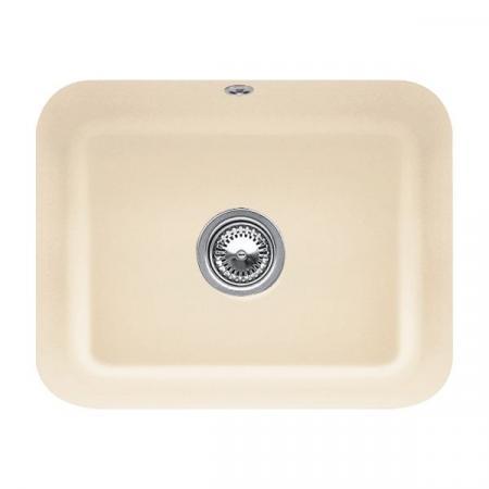 Villeroy&Boch Cisterna 60C Zlewozmywak ceramiczny jednokomorowy CeramicPlus 55x44 cm piaskowy Sand 670601i5